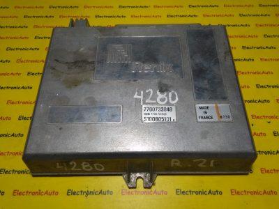 ECU Calculator motor Renault 21 2.0 HOM7700731803, S100805101 D, 7700733848