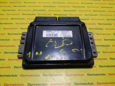 ECU Calculator motor Renault Clio 1.4 S110130074C, 8200108405