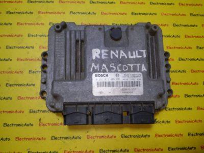 ECU Calculator motor Renault Mascot, Master 0281011486, 8200391957