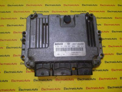 ECU Calculator motor Renault Megane 1.9DCI 0281011275