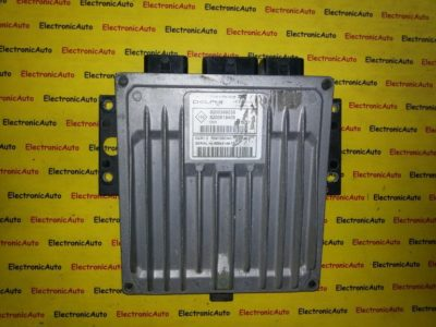 ECU Calculator Motor Renault Megane 1.5DCi, 8200619409, 8200399038, DCM1.2 R0410B034C