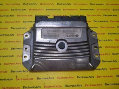 ECU Calculator motor Renault Megane 1.6 8200298457, 8200298463