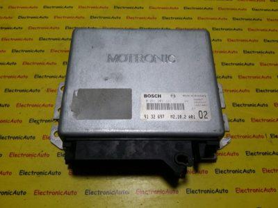 ECU Calculator motor Saab 0261203122, 9132697