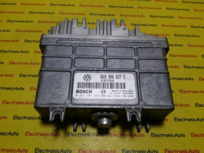 ECU Calculator motor Seat Ibiza 1.4 6K0906027E 0261204593