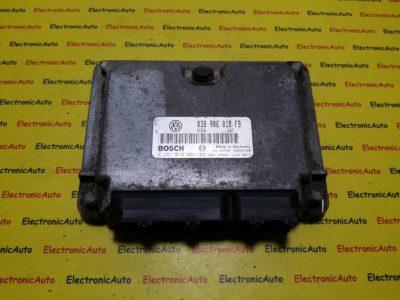 ECU Calculator motor Seat Ibiza 1.9TDI 0281010006, 038906018FB