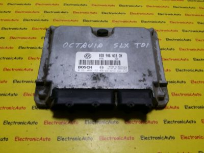 ECU Calculator motor Skoda Octavia 1.9TDI 0281010182, 038906018GN
