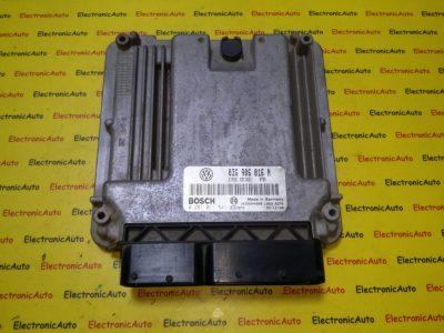 ECU Calculator motor VW Caddy 2.0SDI 0281011541, 03G906016N