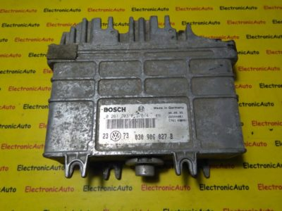 ECU Calculator motor VW Golf3 1.4 0261203613/614, 030906027T