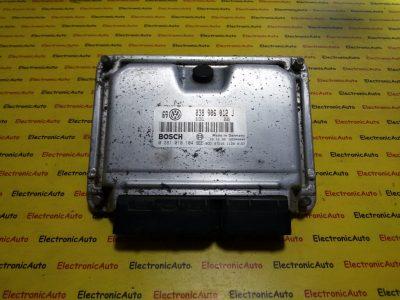 ECU Calculator motor VW Golf4 1.9SDI 0281010104, 038906012J