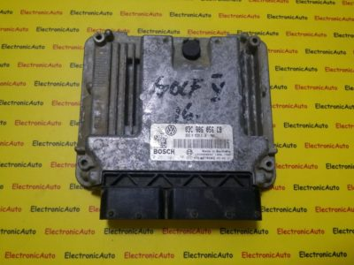 ECU Calculator motor VW Golf5 1.6 0261S02150, 03C906056CB, MED9.5.10