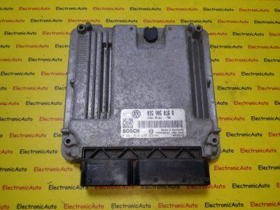ECU Calculator motor VW Golf5 1.9TDI 0281012220, 03G906016R