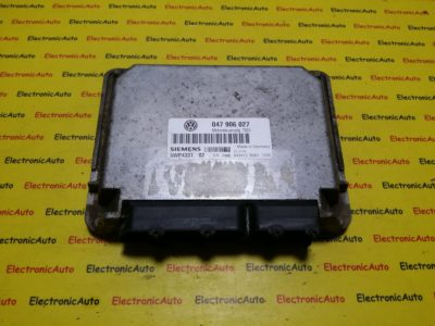 ECU Calculator motor VW Lupo 1.0 047906027, 5WP433102