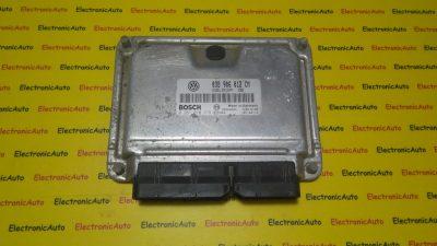 ECU Calculator motor VW Lupo 1.7SDI 0281010379 , 038906012CM