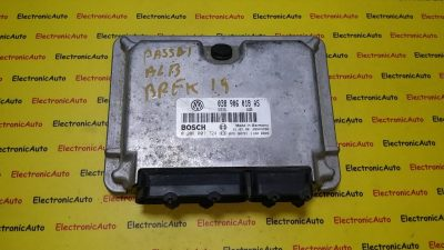 ECU Calculator motor VW Passat 1.9TDI 0281001724, 038906018AS