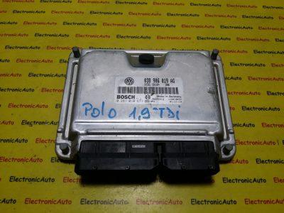 ECU Calculator motor VW Polo 1.9TDI 0281010671, 038906019AG