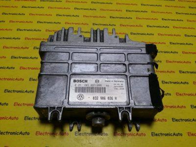 ECU Calculator motor VW Polo 1.6 032906026H 0261203897/898