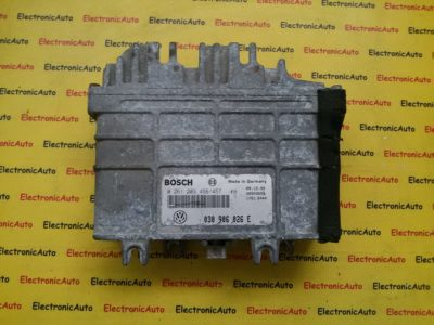 ECU Calculator motor  VW Polo 6N 0261203456/457, 030906026E