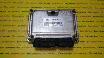 ECU Calculator motor VW Sharan 1.9TDI 0281001865, 038906019AB