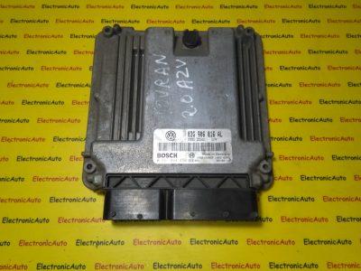 ECU Calculator motor VW Touran 2.0TDI 0281011450, 03G906016AL