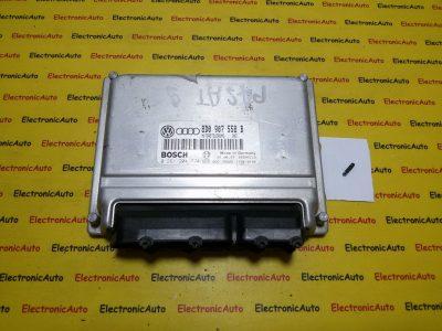 ECU Calculator motor+cip Audi A4 1.8 0261204774 8D0907558B
