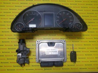 Kit pornire Audi A4 1.9TDI 0281011222, 038906019LJ, motor AVF
