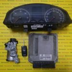 Kit pornire VW Golf5 1.9TDI 0281011478, 03G906016B, motor BKC