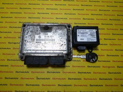 Kit pornire VW LT 074906018H, 0281010407