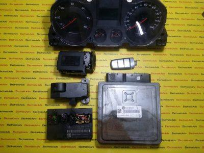 Kit pornire VW Passat 2.0TDI 03G906018, 5W045500AF, BKP