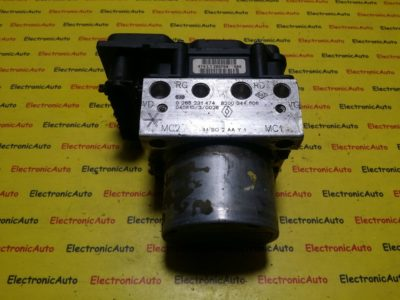 Pompa ABS Renault Scenic 8200344606, 0265231474