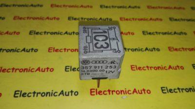 Releu bujii incandescente VW, Audi, Skoda, Seat 357911253, 357 911 253